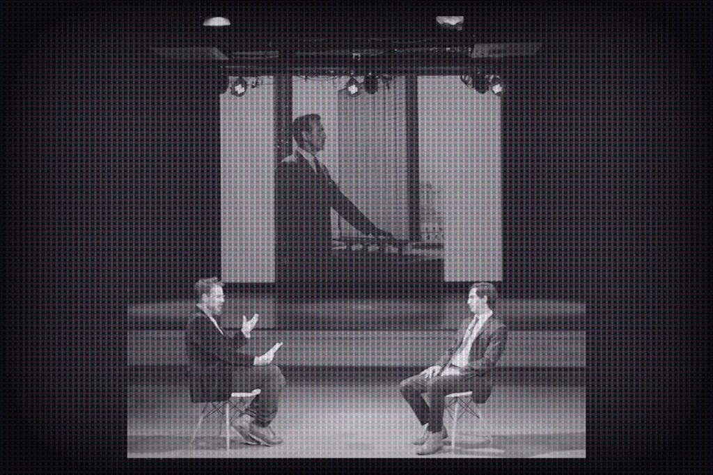 Cielo Falso, Interview Performance de Rodrigo Valenzuela Jerez Arquitecto y Juan Pablo Corvalán