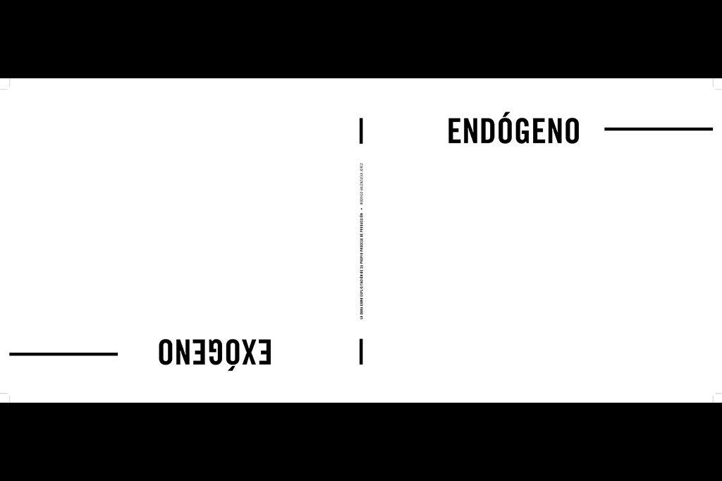 Endógeno & Exógeno Thesis by Rodrigo Valenzuela Jerez Arquitecto